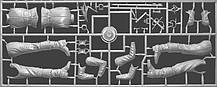 Французский гвардеец XVII век. Сборная пластиковая фигурка в масштабе 1/16. MINIART 16011, фото 2