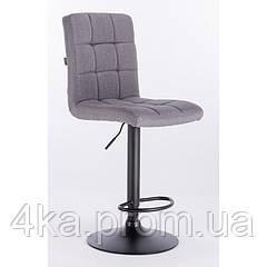 Барне крісло, стілець візажиста HROVE FORM HR7009W, сіра тканина