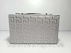 Шкатулка для украшений кожзаменитель лакированный купить оптом и в розницу, фото 3