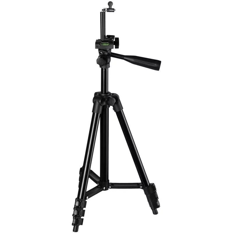 🔝 Штатив для фотоаппарата + крепление для телефона, Tripod 3120 Black, тренога держатель для камеры   🎁%🚚