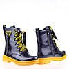 Массивные Демисезонные ботинки W2154-2729AH BLACK KOGA весна 2020