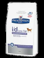Корм для собак Hills PD Canine i/d Low Fat 12 кг хиллс для собак при нарушении пищеварения, уменьшение жира