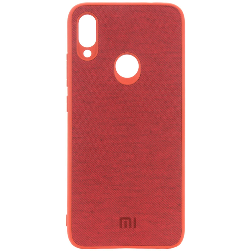 Защитный чехол Textile Logo для Redmi Note 7