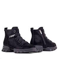 Спортивные женские ботинки Lonza FLM81835 BLACK весна 2020, фото 1