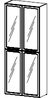 Шкаф  Альянс 21\163  (900х400х2176)