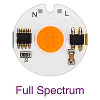 Светодиодный фито модуль COB LED 12Ватт AC220 27mm для растений