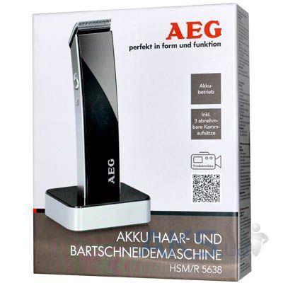 Машинка для стрижки волос aeg hsm/r 5638 black