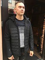 Мужская куртка ветровка весенняя короткая спортивная классика