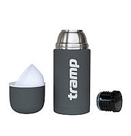 Термос Tramp Soft Touch 0.75 л серый (TRC-108-grey)