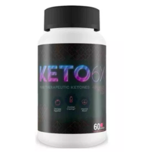 Keto 6x (Кето 6икс) — капсулы для похудения