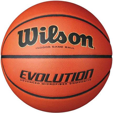 Мяч баскетбольный Wilson Evolution Size 7 SS19 (5644), фото 2