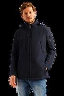 Мужская куртка весенняя FiNN FLARE B19-22009-101 темно-синяя