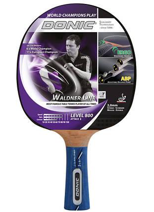 Ракетка для настольного тенниса Donic Waldner 800 754882 (7620), фото 2