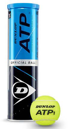 Теннисные мячи Dunlop ATP Official 4 ball (9507), фото 2