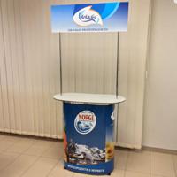 Промо стол.Промо-стол .Рекламый стол .Рекламная стойка .Стол для презентации .