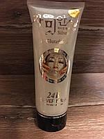 Корейская маска-пленка для лица с Биозолотом L-Glutathione 24K Gold Mask,220 мл.