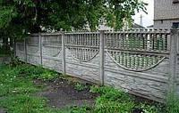 Плита на забор (конек)