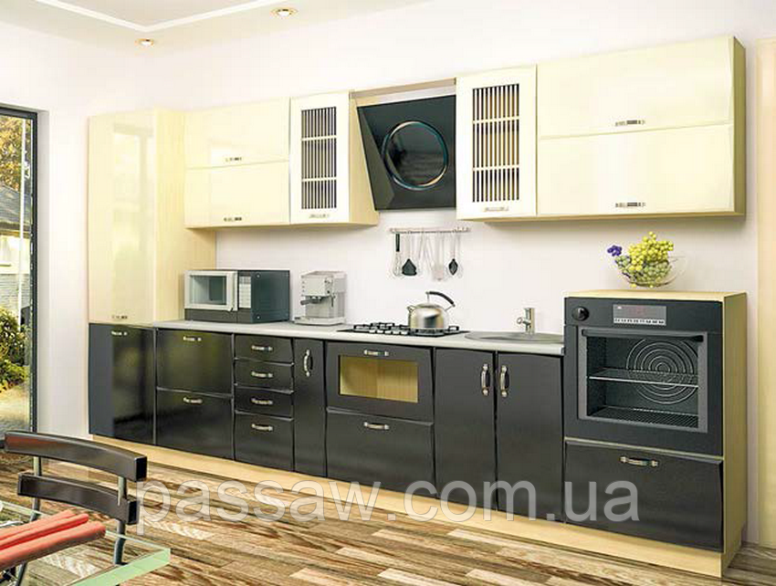 Кухня Тиффани 2м со столешницей