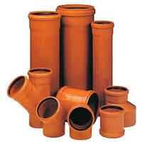 Трубы ПВХ для наружной канализации 110-500мм SN4
