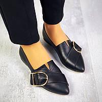 Кожаные туфли на низком ходу 36-40 р, фото 1