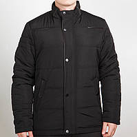 Демисезонная мужская куртка черная (44-60рр)