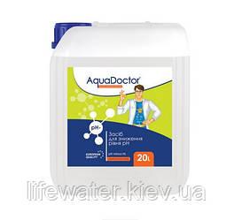 Жидкое средство для снижения pH AquaDoctor pH Minus HL (Соляная 14%) (20л)