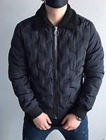 Зимняя куртка-бомбер до -10, Люкс качество