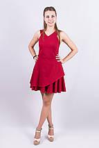 """Стильное летнее платье """"Виктория Бэкхэм"""" с подъюбником (2 цвета), фото 3"""