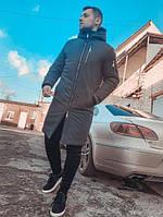 Удлиненная мужская куртка до -20