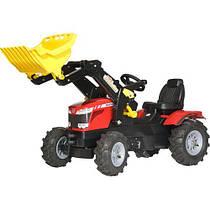 Педальный трактор Farmtrack Massey Fergusson для деток от 3 до 8 лет Rolly Toys 611140