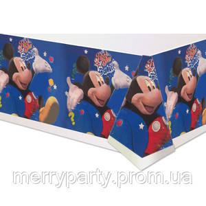 180х110 см Скатерть праздничная Микки Маус п/э Китай
