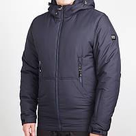 Демисезонная синяя мужская куртка (48-58рр)