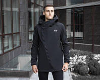 "Удлиненная куртка Pobedov Jacket ""Darkness"" Black"