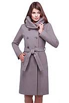 Женское осеннее пальто 42-58 арт. Мелина, фото 2