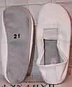 Чешки кожаные БЕЛЫЕ с 23 по 24р, фото 2