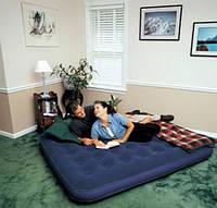 Надувной матрас Bestway 67003 двуспальный велюр