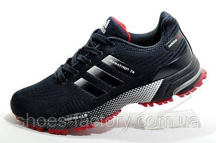 Бігові кросівки в стилі Adidas Marathon TR 2020, Dark Blue, фото 2