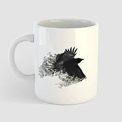 Кружка с принтом Птица. Bird. Чашка с фото
