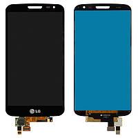 Дисплей для LG Optimus G2 mini D618, D620, модуль в сборе (экран и сенсор), черный, оригинал