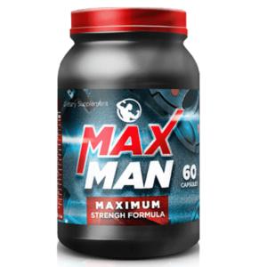 MaxMan (МаксМэн) — капсулы для наращивания мышечной массы
