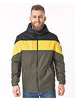 Летняя мужская куртка зеленая (46-54рр)