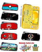 Защитный чехол бампер с рисунком для Nintendo Switch Lite  / Стекла есть в наличии /