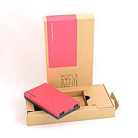 Внешний аккумулятор Power Bank Parkman 10000 mAh (Розовый), фото 1