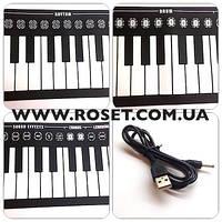Гибкое пианино на 49 клавиш