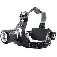Налобный аккумуляторный фонарь фонарик Police Bailong BL-2199 T6 диод SMU Shop