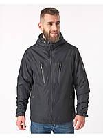 Летняя мужская куртка черная (46-54рр)