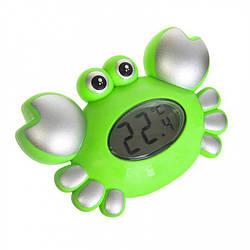 "Игрушка для ванной METR+ ""Краб"", градусник, звук, 2 цвета, 5534"