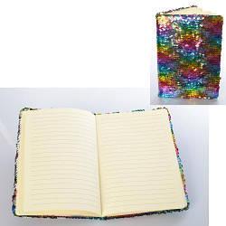 Блокнот радуга с пайетками, MK3194