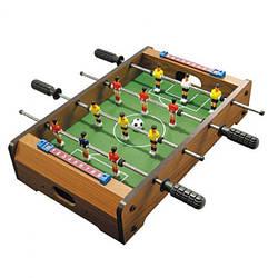 Футбол деревянный LimoToy, на штангах, табло ведения счета, 6HG235A