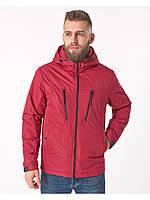 Летняя мужская куртка красная (46-54рр)